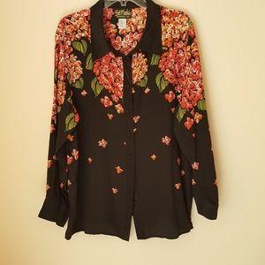 Silk Women blouse, size CO, S
